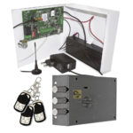 Накладной замок-невидимка ЗН ЭМ 01.02 МЕТТЭМ® с GSM-модулем